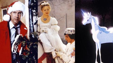 Collage Weihnachtsfilme