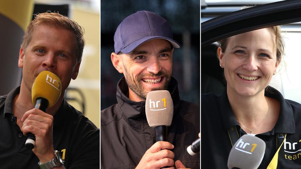 Collage von Kai Völker, Lars-Henning Metz und Nicole Abraham beim Kassel-Marathon