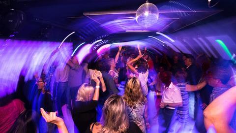 Der hr1-Dancefloor in Bad Homburg