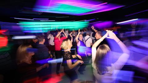 Fotos vom Dancefloor in Bad Homburg am 28.2.2020.