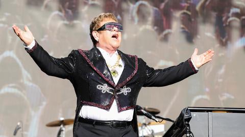 Elton John live in Wiesbaden