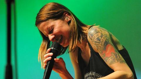 Christina Stürmer auf ihrem Konzert