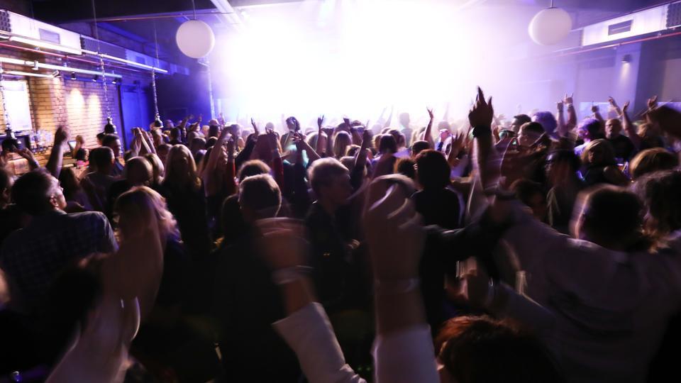 Der hr1-Dancefloor am 07.10.2017 in Bensheim