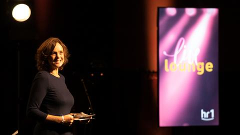 Die hr1-Live Lounge mit Laith al Deen