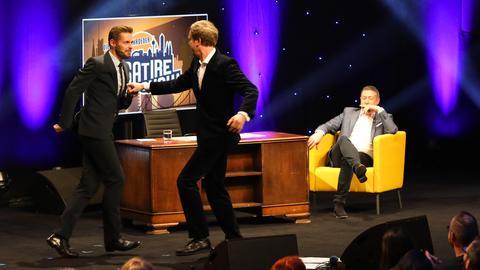 Satire Show Schroeder Llambi
