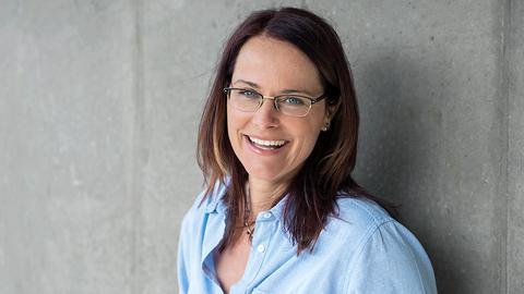 hr1-Moderatorin Sylvia Homann