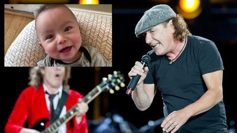 Brian Johnson AC/DC - Baby Ryan