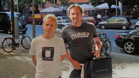 hr1-Hörer Thomas Ostermann und Martin Gore