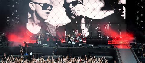 Depeche Mode auf der Berliner Waldbühne