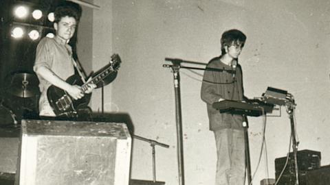 Paul Landers und Flake von Feeling B