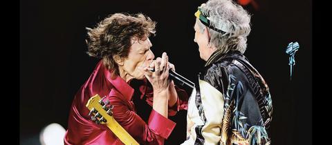 Mick Jagger und Keith Richards beim Konzert in Havanna 2016