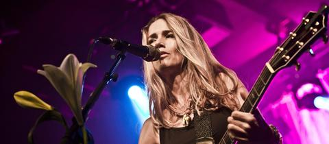 Heather Nova bei einem Konzert in Berlin