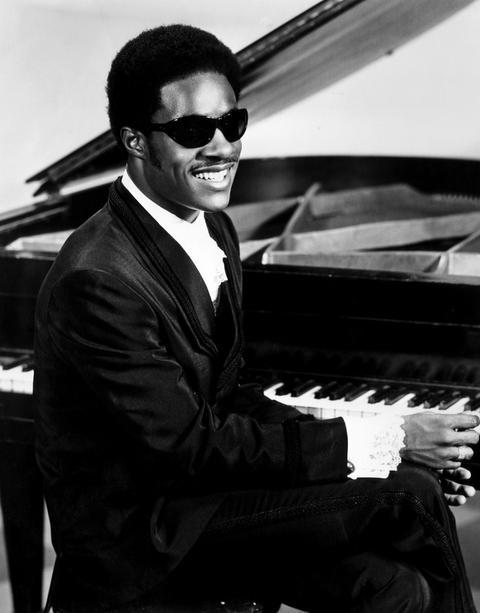 Sänger Stevie Wonder im Jahr 1970