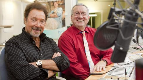 Tom Jones mit Werner Reinke