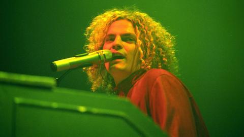 Joe Washburn, Sänger der Band Toploader