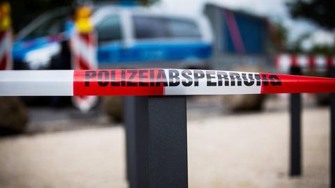 Eilt - Polizeiabsperrung, Absperrband