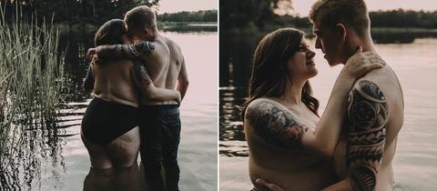 Zwei Bilder der Texaner Arryn und Stephanie