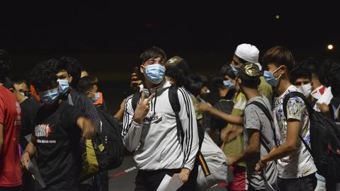 Feuer Flüchtlingslager Moria