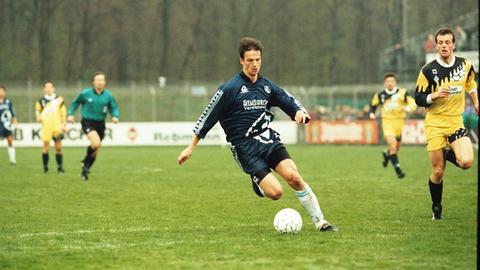 Fredi Bobic als Spieler von den Stuttgarter Kickers