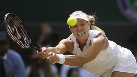 Kerber im Wimbledon Finale