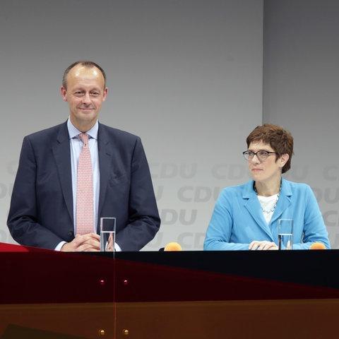 Merz Spahn Kramp-Karrenbauer