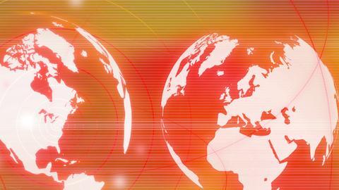 Stilisierte Weltkugel