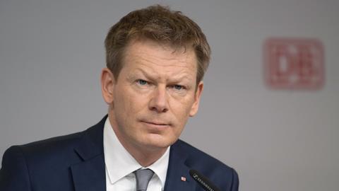 Richard Lutz, Vorstandsvorsitzender der Deutschen Bahn