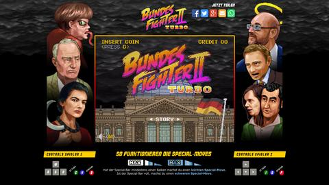 Screenshot des Spiels Bundesfighter II Turbo