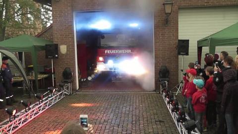 Screenshot von der Vorstellung des Feuerwehrautos Hector