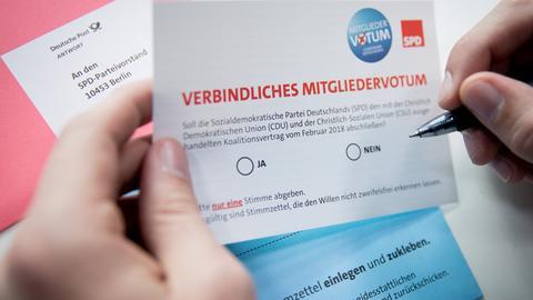 SPD Groko-Wahl