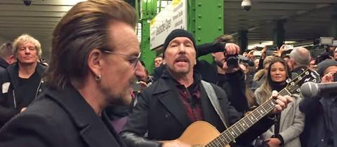 U2 in der Berliner U-Bahn