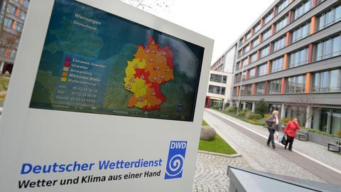 Temperaturkarte Deutscher Wetterdienst