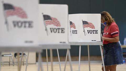 Wahllokal in den USA