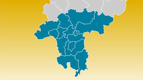 Südhessens Lankreise