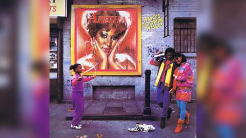 Aretha Franklin Who's zoomin' who Cover
