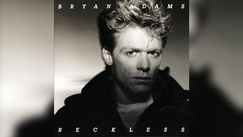 """Das Plattencover von Bryan Adams' """"Reckless"""""""