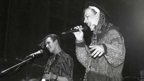 Culture Club 1983 bei einem Auftritt