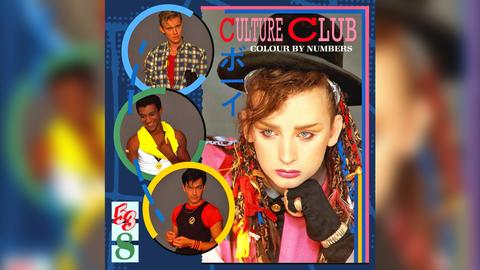 "Culture Club ""Colour By Numbers"" Cover"