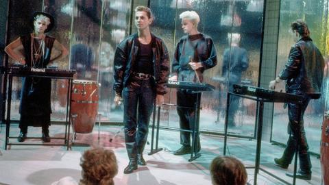 Depeche Mode 1985 auf der Bühne