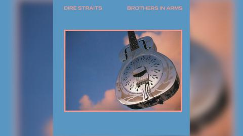 """Das Plattencover des Dire Straits-Albums """"Brothers In Arms"""""""
