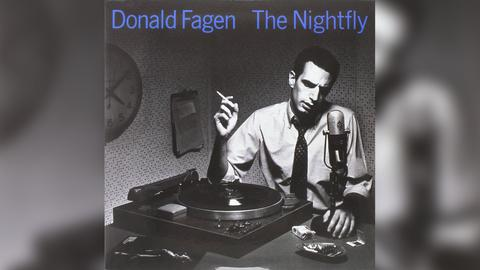 "Das Plattencover von Donald Fagens ""The Nightfly"""