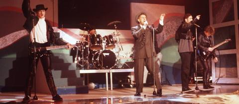 Ein Frankie Goes To Hollywood-Konzert von 1986