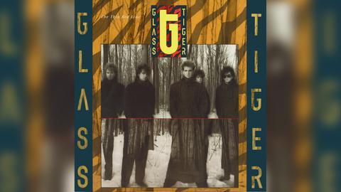 "Das Plattencover von Glass Tigers ""The Thin Red Line"""