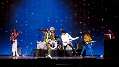 Hall & Oates 1981 auf der Bühne