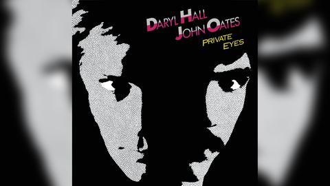 """Das Plattencover von Hall & Oates' """"Private Eyes"""""""