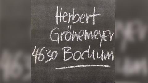 """Das Plattencover von Herbert Grönemeyers """"4630 Bochum"""""""