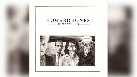 "Das Plattencover von Howard Jones' ""Human's Lib"""