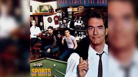 "Das Plattencover von Huey Lewis and the News' ""Sports"""
