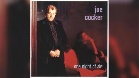 "Das Plattencover von Joe Cockers ""One Night Of Sin"""