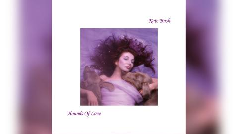 "Das Plattencover von Kate Bushs ""Hounds Of Love"""